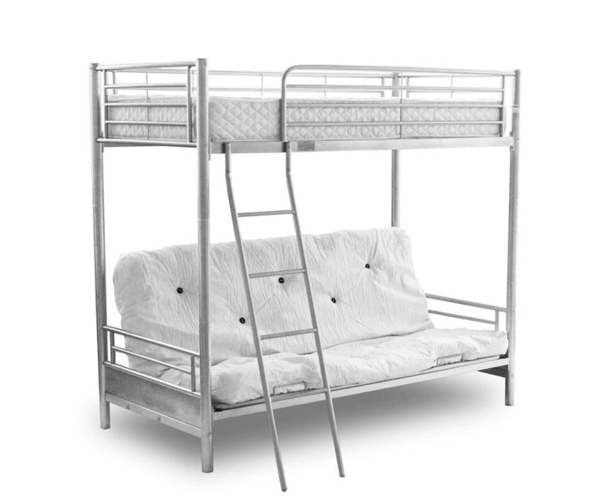 alaska futon bunk bed alaska futon bunk bed   budget beds   budget beds  rh   budget beds co uk