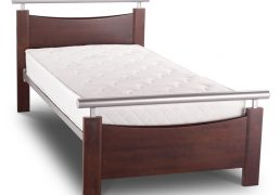 Dixie wooden bed brown