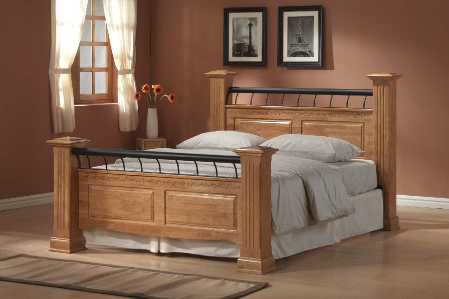 Rolo Wooden Bed Budget Beds Budget Beds