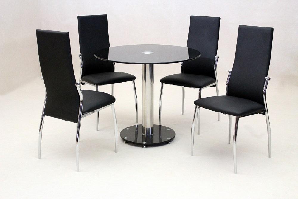 Etonnant Alonza Glass Dining Set