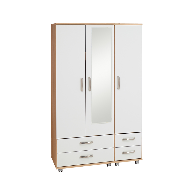 door wardrobe with drawers regal 3 door 4 drawer with mirror budget beds 4