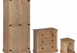 AmazonDistressed Pine Trio set
