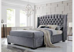 Fabric / velvet beds